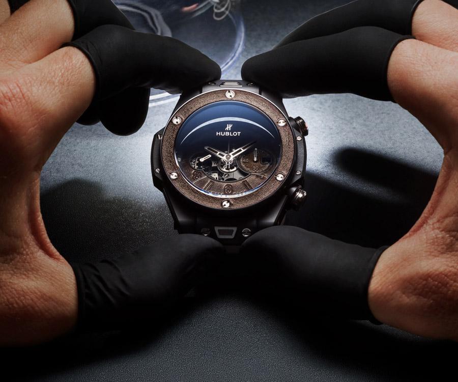 宇舶與皮革大師跨界之作 Hublot Big Bang Unico Berluti冰棕腕錶
