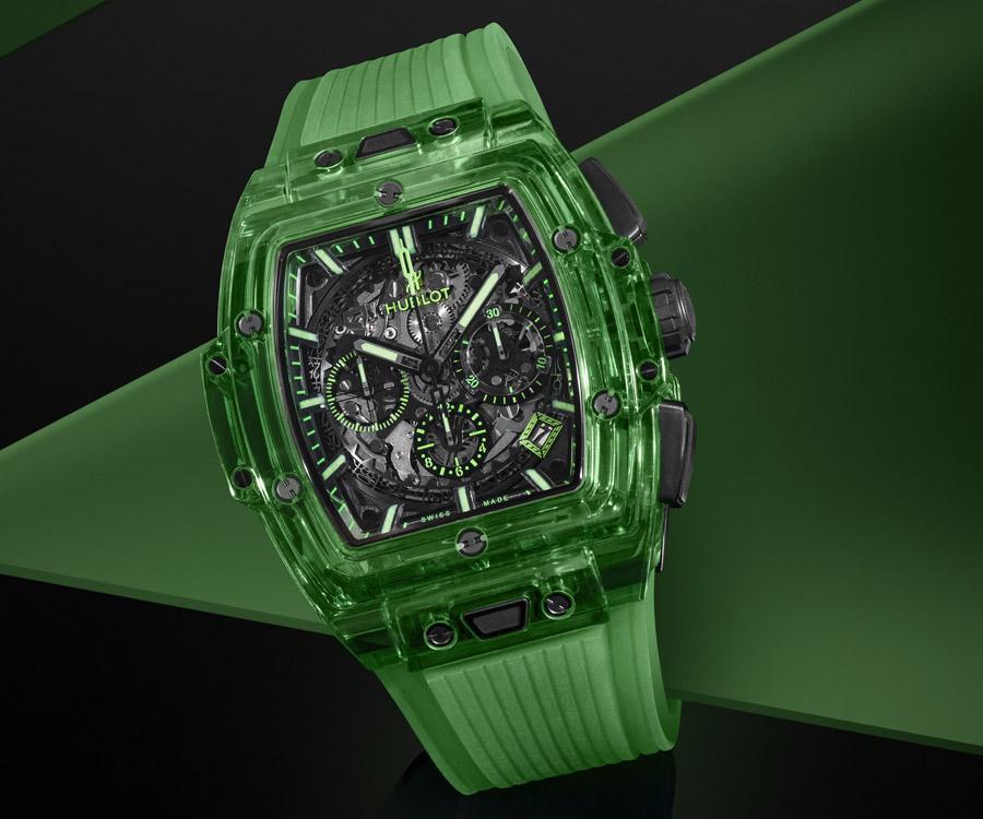 宇舶打造創新材質美學 Spirit of Big Bang Saxem腕錶