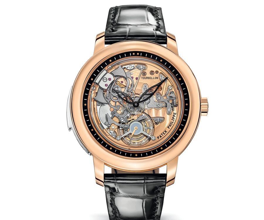 百達翡麗PATEK PHILIPPE 5303R-001三問陀飛輪腕錶