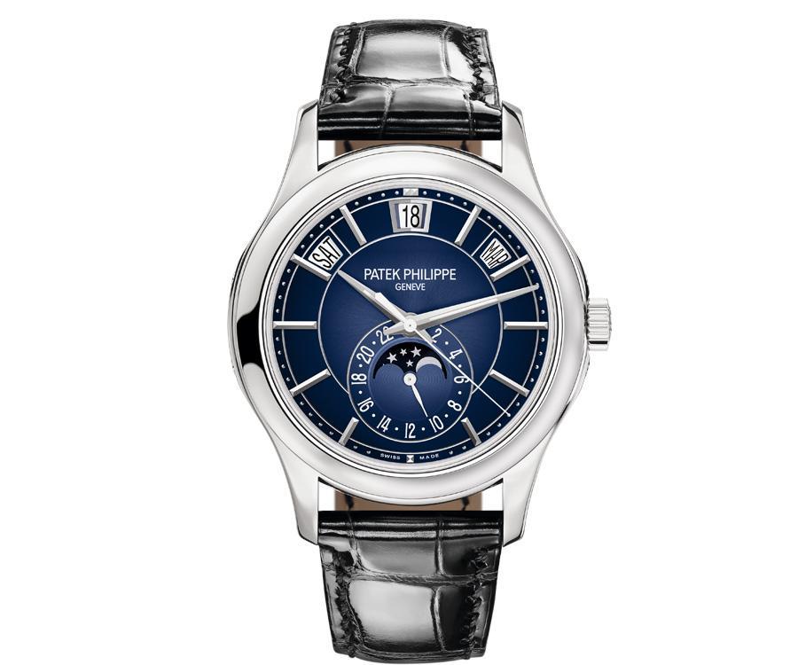 百達翡麗PATEK PHILIPPE 5205G-013年曆腕錶