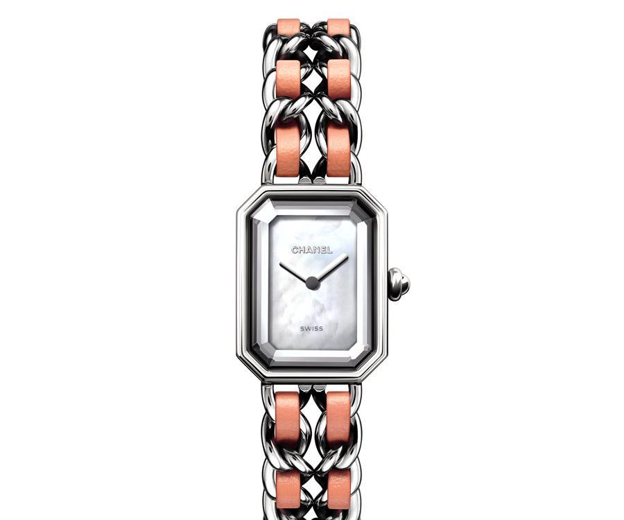 CHANEL Première Rock 粉紅腕錶