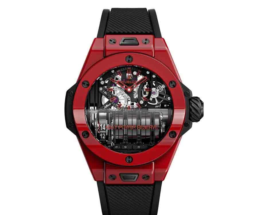 HUBLOT Big Bang MP-11 魔力紅陶瓷腕錶