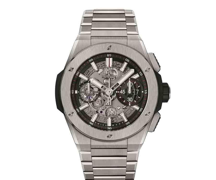 HUBLOT Big Bang Intergal 計時碼錶鈦金屬款