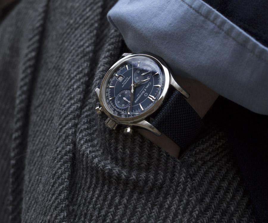 寶齊萊馬利龍飛返計時碼錶 引領蔚藍風尚