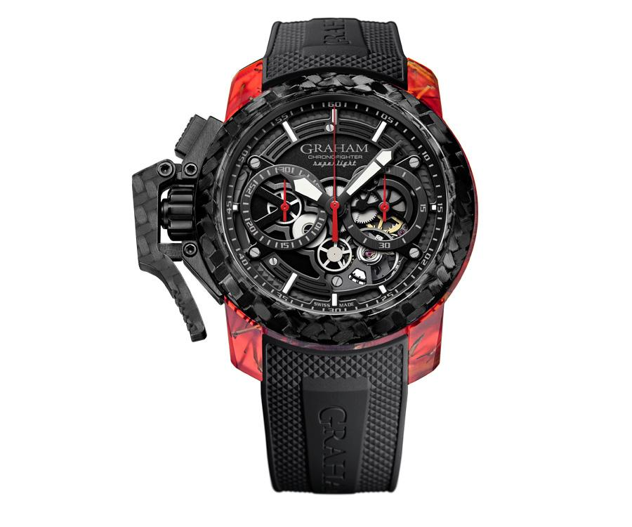 GRAHAM格林漢Chronofighter Superlight Carbon Skeleton