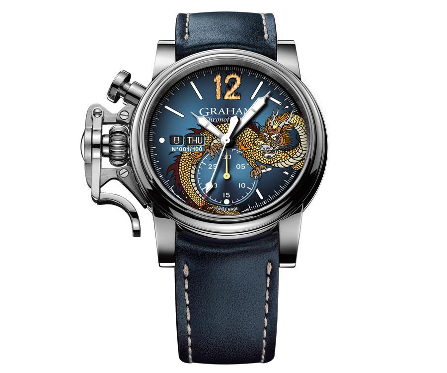 GRAHAM格林漢Chronofighter Vintage Ltd-Dragon