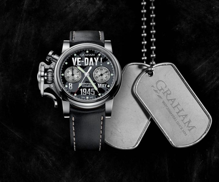 計時碼錶功能/44mm精鋼錶殼,快速啟動計時按鈕、停止撥桿及歸零按鈕/G1722自動計時機芯,C.O.S.C 天文台認証,震頻28, 800次,動力儲存48小時,具高抗震認證/拱形藍寶石水晶錶鏡, 防炫目塗層,透明藍寶石水晶錶背,錶底蓋上刻有限量編號/防水100米/夜光塗料指針、刻度/黑色小牛皮帶/全球限量25只