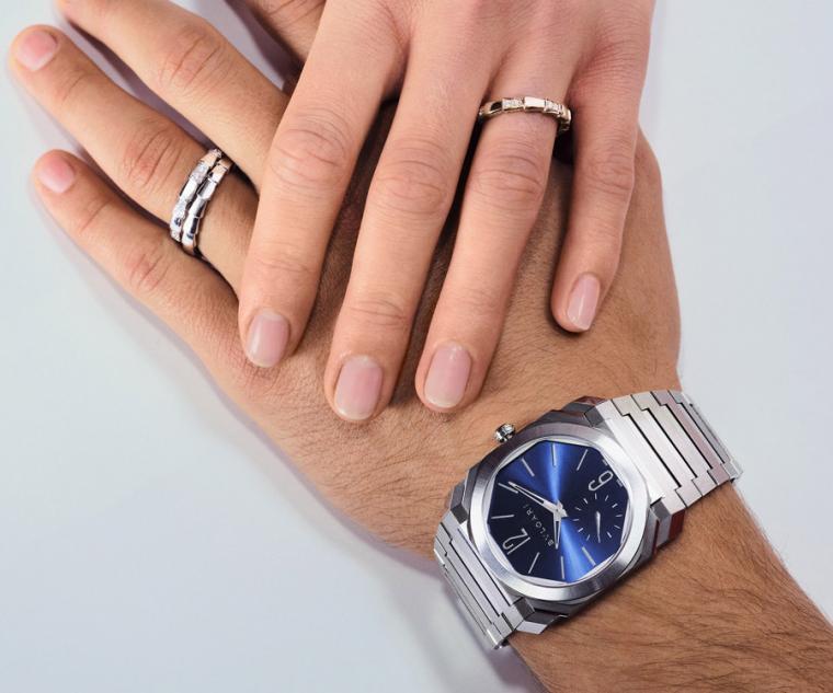 BVLGARI OCTO系列腕錶,寶格麗以獨特設計,為消費者打造風格選擇。