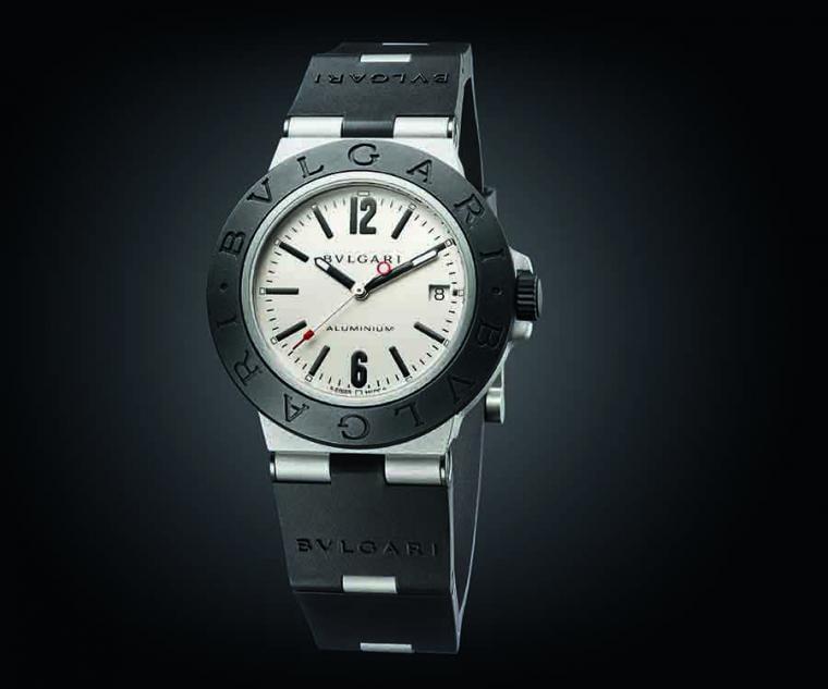 BVLGARI ALUMINIUM系列自動上鍊鋁合金腕錶