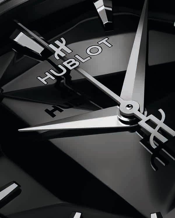 經典融合系列Olinski 女性腕錶鈦金屬款面盤特寫